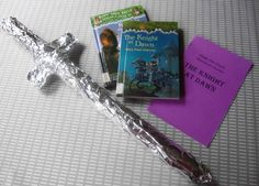 The Magic Treehouse Adventure series of storytimes with activities and crafts: ADVENTURES AS ANNIE: THE KNIGHT AT DAWN