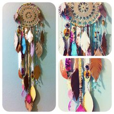 #dreamcatcher- this is similar to what I envision making for myself