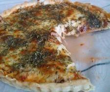 Przepis Tarta z tuńczykiem i z mozzarellą przez Agakal34 - Widok przepisu Słone wypieki