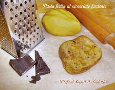 Pasta frolla al cioccolato fondente  Blog Profumi Sapori & Fantasia