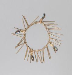Bracelet Themisto Laiton La Fiancée du Facteur en vente chez L'Exception