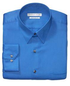 Geoffrey Beene Sateen Solid Dress Shirt