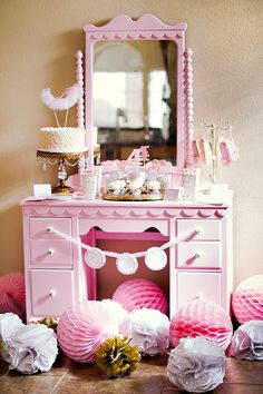 spa birthday party for girls   HWTM > Kids Birthday > Parties for Girls > Beautiful {French Inspired ...