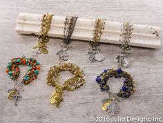 Dante #JulioDesigns #HandmadeJewelry #TopSeller