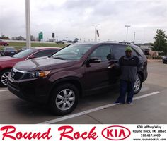 #HappyBirthday to Antoinette Taylor from Jorge Benavides at Round Rock Kia!