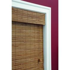 Home Decorators Collection Honey Bamboo Weave Roman Shade - 31 in. W x 72 in. L-0258531 - The Home Depot