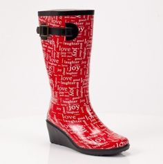 Puddle jumpers!--been wanting a pair of rain boots, for after it rains dog walks