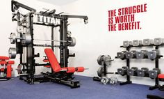 The Struggle is Worth The Benefit Fitness Weight Lifting Motivational Decal Quote for Home, Office, Yoga Studio, or Gym