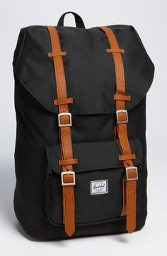 Herschel Supply Co. 'Little America' Backpack available at #Nordstrom #Black #Winter