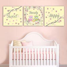 Παιδικοί πίνακες σε καμβά Happy sweet family Toddler Bed, Sweet, Happy, Furniture, Shadow Box, Home Decor, Art, Child Bed, Candy