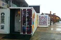 showroom from the container