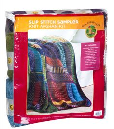 Knitting Slip Stitch Sampler Kit