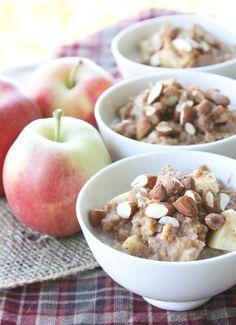 Slow Cooker: Overnight Apple Cinnamon Quinoa Oatmeal | Everybody Loves Pretty