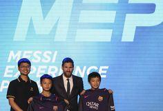 Món Esport   Messi obre un parc temàtic a la Xina   BARÇA, 01/06/2017