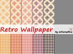 My Fabulous Sims: Retro Wallpaper by schlumpfina • Sims 4 Downloads