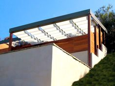 Slide Wire Canopy by Superior Awning in Southern California. superiorawning.com