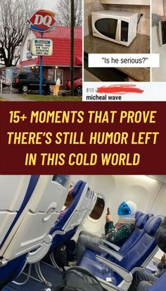 This world can seem like a cold, cold place at times...and that's not just because it is winter. But, there are people out there who try to inject a little humor and warmth into this world despite this.
