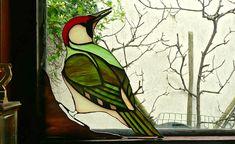Colector de vidrio carpintero verde sol por CottageyCreations