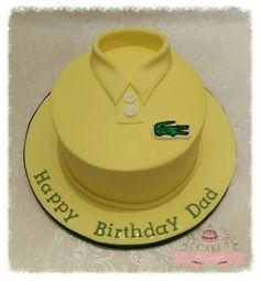 Lacoste tshirt Cake
