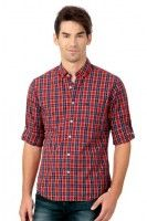 PETER ENGLAND Casual Checked Shirt @ Rs.1299
