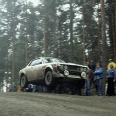 Flying Celica. Rally celica is beast!!