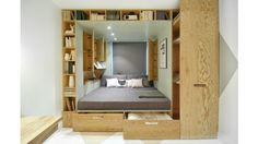 Living in a shoebox | This tiny Russian apartment is packed with storage and style