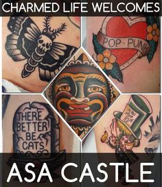 We're excited to announce the return of Asa Castle a great friend father & tattooer.  Help us make his arrival special by filling up his books! Check out his portfolio over at @asacastletattooer  set up an appointment by calling 859-266-4187 (or click on the link above ) and please share the good news!