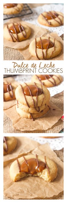 Crisp, buttery cookie dough is topped with sweet, rich dulce de leche and melted chocolate to create tiny little bites of heaven!
