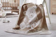 Babydecke Ibena in beige online kaufen ➤ mömax Beige, Blanket, Cuddling, Blankets, Comforter, Ash Beige, Quilt