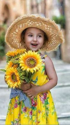 What a cutie with a sunny smile!
