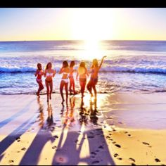 Spending summer on the beach with my best girl friends is probably one of the best activities! #indigo #perfectsummer
