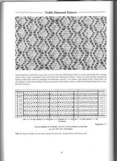 Шетландские узоры - 1 / Вязание спицами / Вязание для женщин спицами. Схемы