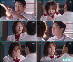 seo jung become blush on dong joo confessing i love you - Romantic Doctor Kim: Episode 15