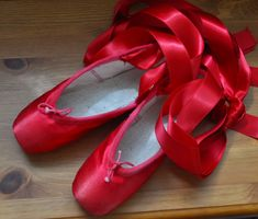 red pointe shoes!