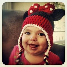 Adorable Minnie Mouse Hat