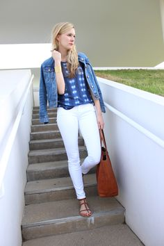 C.Style Blog: Tip: How to Style Your T-shirt and Jeans