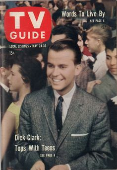 "Dick Clark of ""American Bandstand""  May 24-30 1958"