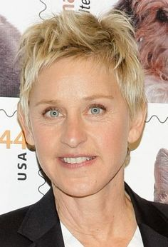 ellen degeneres hairstyles : about Hairstyles on Pinterest Ellen degeneres, Cute short hairstyles ...