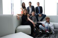 The CFDA Fashion Incubator Tours Dallas - The Incubators: Arielle Shapiro, Jonathan Simkhai, Alan Eckstein, Timo Weiland, Max Stein and Reece Solomon
