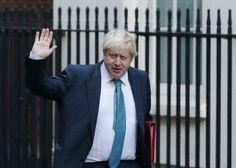 Sale a la luz un artículo de Boris Johnson duro defensor del Brexit a favor de la permanencia