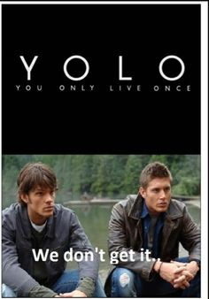 matt cohens Photo: To all the supernatural fans.... Too funny too true!