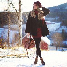Love this outfit #carolinebergeriksen