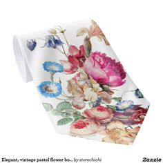 Elegant, vintage pastel flower bouquets. Light