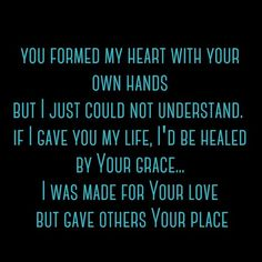 The Reason by Lacey Sturm  I love this because it so purely my testimony put to song...