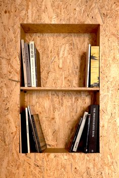 J&Y – equipped wall by Reverse #smartsolution #ecodesign #osb
