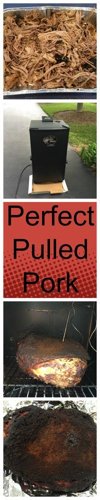 Pulled pork is a great place for a beginning smoker to learn how to smoke meat. This is a simple recipe that produces moist meat with chunks of bark throughout.