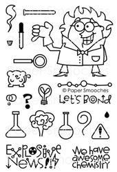 Great Chemistry stamp set by Paper Smooches