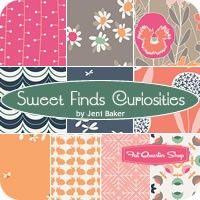 Sweet Finds Curiosities Fat Quarter Bundle<BR>Jeni Baker for Art Gallery Fabrics