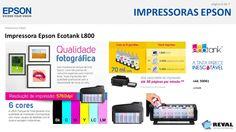 Com as #impressoras #Epson #Ecotank, a #tinta parece #inesgotável!