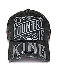 Country Is King Mesh Cap